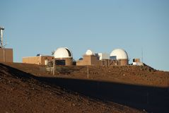 Haleakalā High Altitude Observatory Site royalty free stock photography