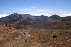 Haleakala国家公园 免版税库存图片