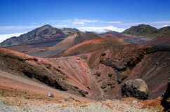 Haleakala国家公园 库存照片