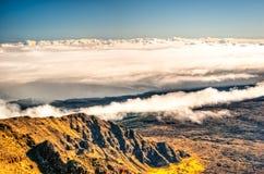 Haleakala -毛伊,夏威夷 免版税库存图片