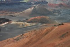 Haleakala Cinder Cone Detail Royalty Free Stock Photography