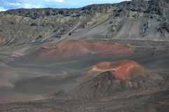Haleakala Cinder Cones, Maui Royalty Free Stock Photo