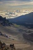Haleakala Crater royalty free stock image