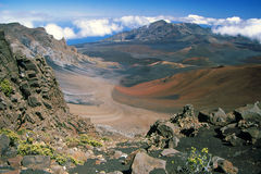 Haleakala Crater - Island of Maui, Hawaii Royalty Free Stock Photo