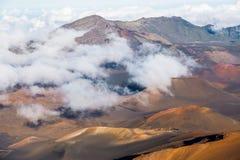 Haleakala crater Royalty Free Stock Photo