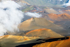 Haleakala crater Stock Photography