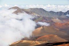 Haleakala crater Royalty Free Stock Images