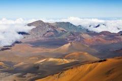 Haleakala crater Stock Images