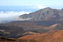 Haleakala Krater 10 Lizenzfreie Stockfotos