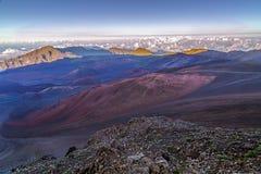 Haleakala krater Obraz Royalty Free