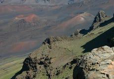 Haleakala Landscape Detail Stock Image