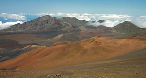 Haleakala Landscape Panorama Royalty Free Stock Photography