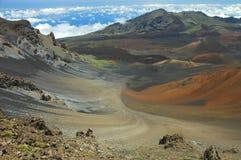 haleakala maui кратера Стоковые Фото