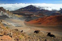 Haleakala Maui royaltyfri bild