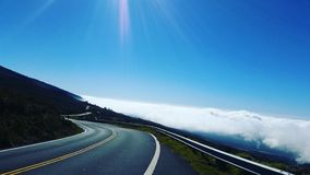 Haleakala Maui photographie stock libre de droits