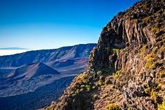 Haleakala - Maui, Havaí Fotos de Stock Royalty Free