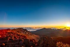 Haleakala - Maui, Havaí Fotos de Stock
