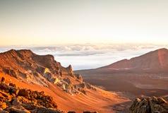 Haleakala - Maui, Hawaii Stockbild