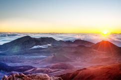 Haleakala - Maui, Hawaii Lizenzfreies Stockbild