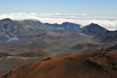 haleakala Maui wulkan Obraz Stock