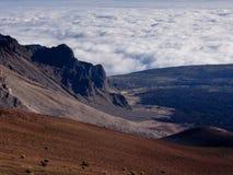 Haleakala-Morgen stockfoto