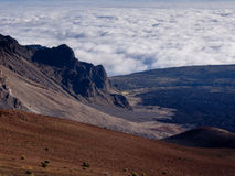 Haleakala morgon Arkivfoto