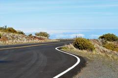 Haleakala Nationaal Park in Maui stock afbeeldingen