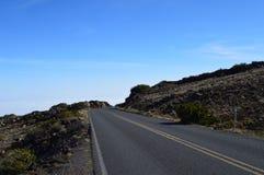 Haleakala Nationaal Park in Maui royalty-vrije stock foto's
