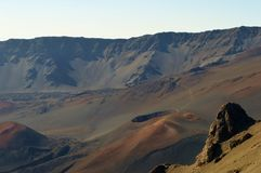 Haleakala National Park in Maui stock photo