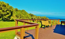 Haleakala national park maui rest area. Stock Photos
