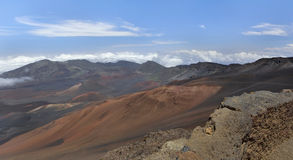 Haleakala National Park.Panorama. Royalty Free Stock Photos