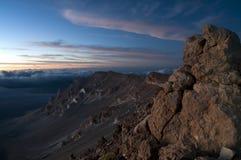 Haleakala National Park Volcanic Royalty Free Stock Photos