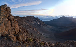 Haleakala National Park Volcanic Stock Images