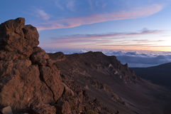 Haleakala National Park Volcanic Royalty Free Stock Photo