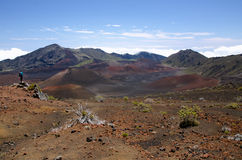 Haleakala nationalpark Royaltyfria Bilder