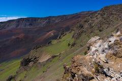 Haleakala Nationalpark Stockfotografie