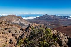 Haleakala nationalpark Arkivfoto