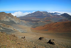 Haleakala NP with Koolau Gap Royalty Free Stock Images