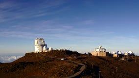 Haleakala observatorium Arkivfoto