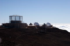 Haleakala Observatory Royalty Free Stock Images