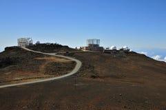 Haleakala Observatory, Maui Stock Photo