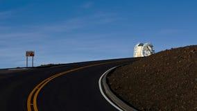 Haleakala obserwatorium, Hawaje Obraz Royalty Free