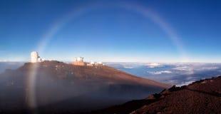 Haleakala op Maui stock fotografie