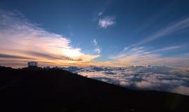 Haleakala Park Narodowy Zdjęcia Royalty Free
