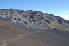 Haleakala Path Stock Images