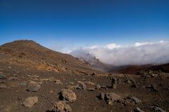 Haleakala szczyt Fotografia Royalty Free