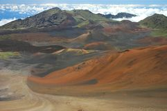 Haleakala Vastness Royalty Free Stock Photo