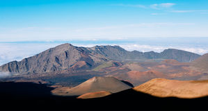 Haleakala Volcano Crater Royalty Free Stock Photography
