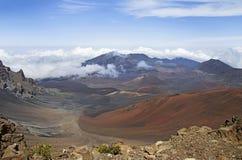 Haleakala volcano or  East Maui Volcano. Maui, Hawaii Royalty Free Stock Photo