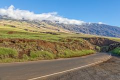 Haleakala Volcano  Hana Highway Maui Royalty Free Stock Photo